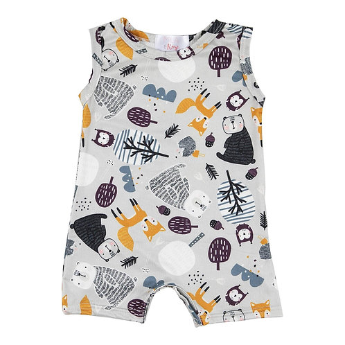 Mila & Rose - Forest Friends One-Piece Shorty