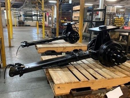 PDI Produces 5th Wheel Running Gear Prototypes