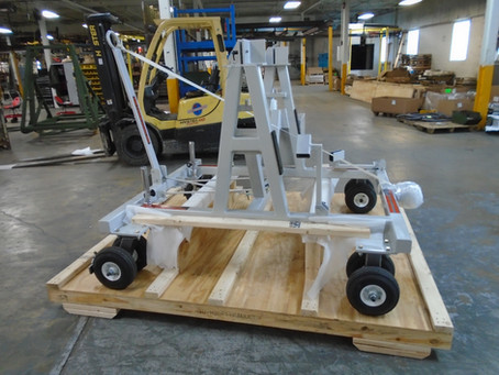 KWD Produces and Ships T-6A Engine Transport Stands