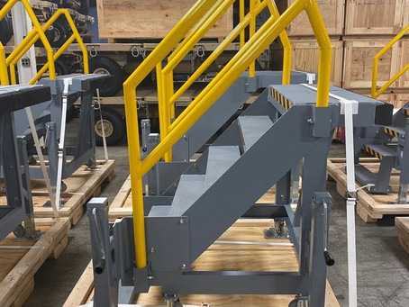 KWD Produces Paratroop Door Stairs for Major Defense Contractor
