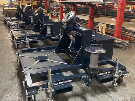 KWD Produces Universal Prop Dollies for European Customer