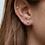 Thumbnail: Mini round earrings gold