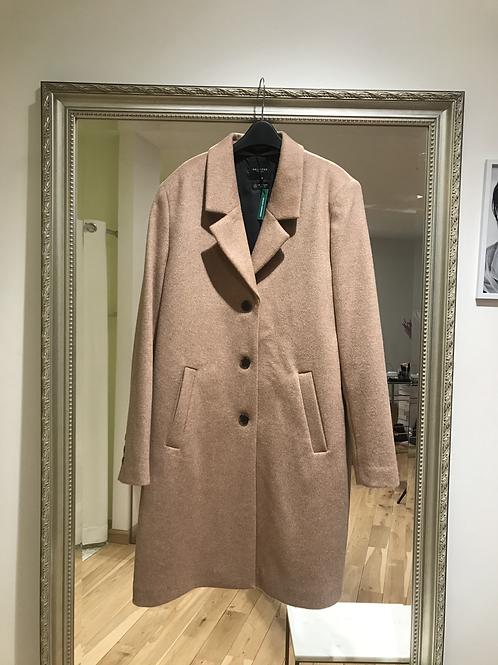 Selected wool camel coat
