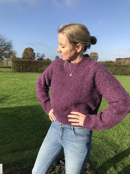 Violet very warm & soft knit