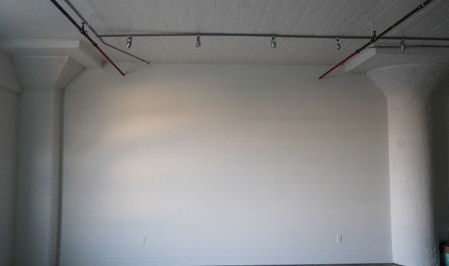 Empty Studio Wall Right FULL
