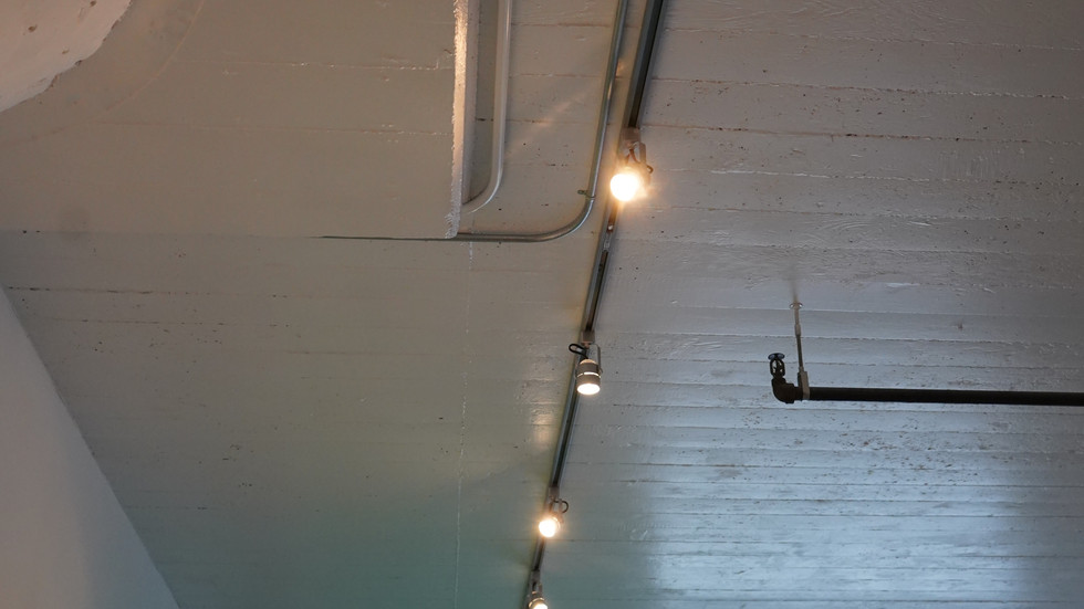 Track Lighting Left