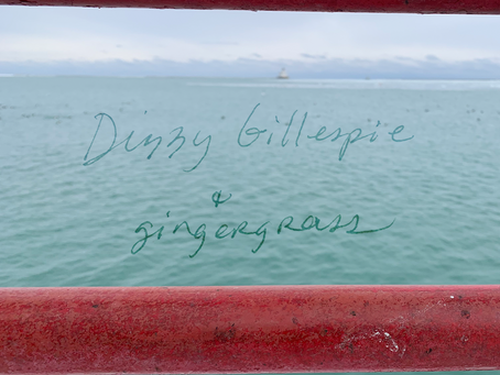 Anchoring: Dizzy Gillespie + gingergrass