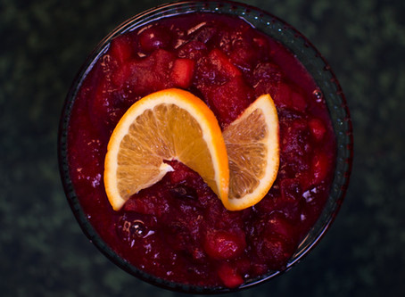 Cranberry-Date Relish