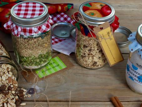 Mason Jar Recipe Gifts