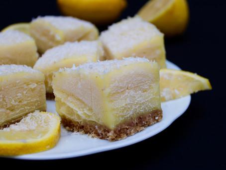 Japanese Lemon Bars