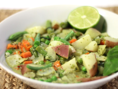 Thai Green Curried Potatoes