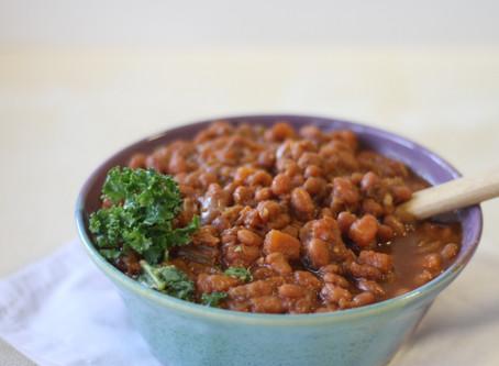 Instant Pot Sweet Baked Beans