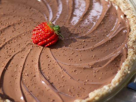Mom's Refrigerated Chocolate Pie