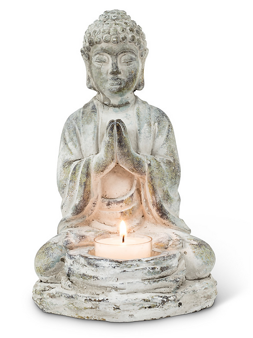 Sitting Buddha Tealight Holder (currently 1 left)