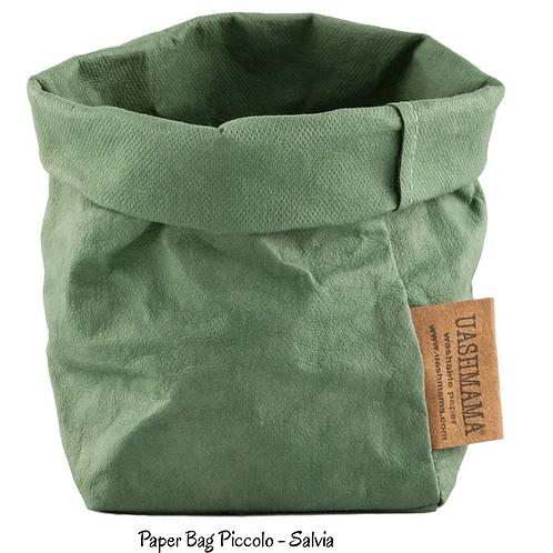 Uashmama Paper Bag - Piccolo size, different colours.