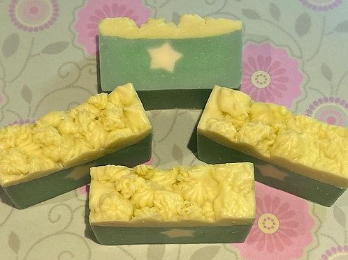 Green Apple and Tangerine soap (Organic)