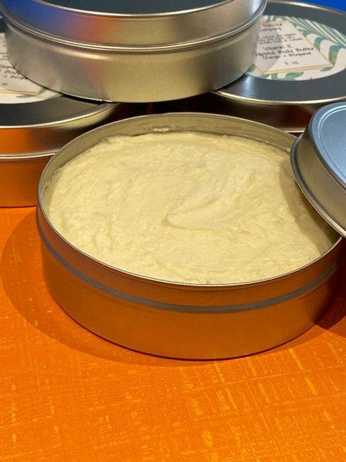 Vitamin E Whipped Body Butter with Orange & Bergamot