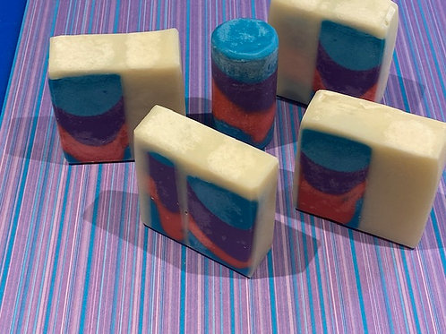 Peony Circles Soap (Organic)