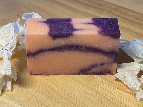 Jasmine soap with organic ingredients