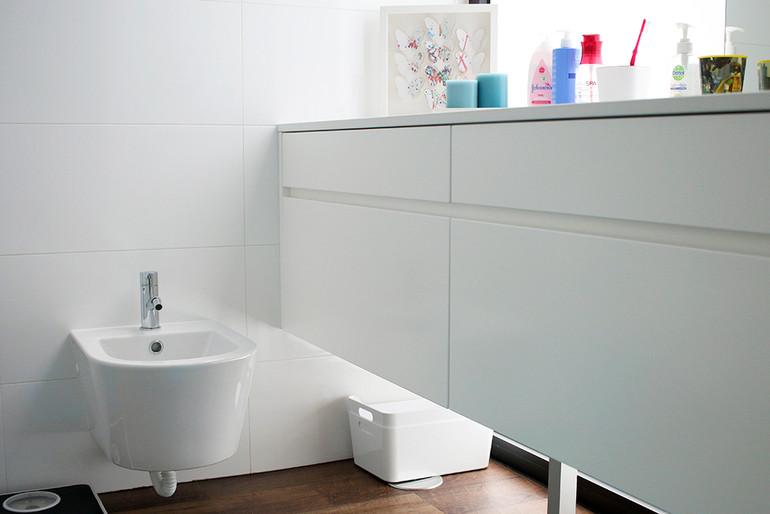 móvel de banho