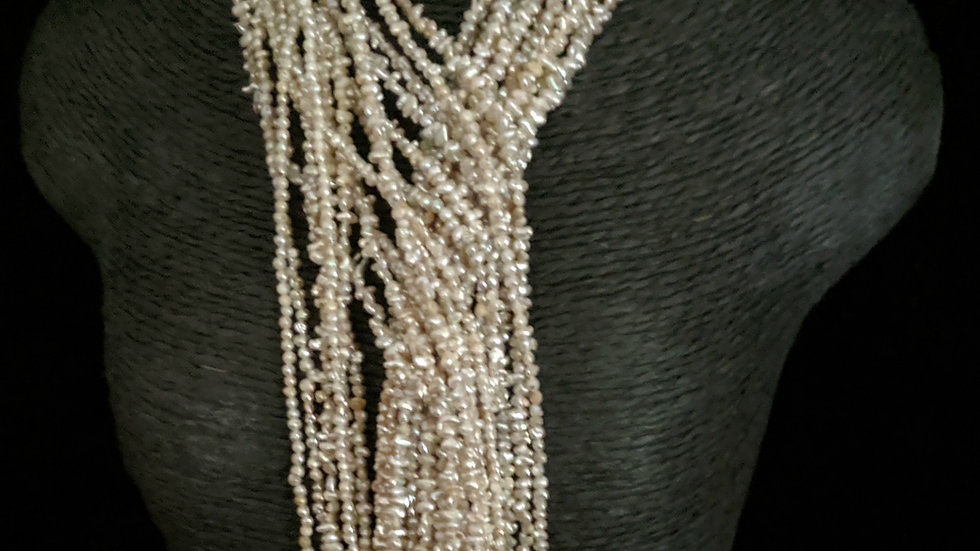 Japanese Akoya Saltwater Keshi Pearls Item 1349-36E