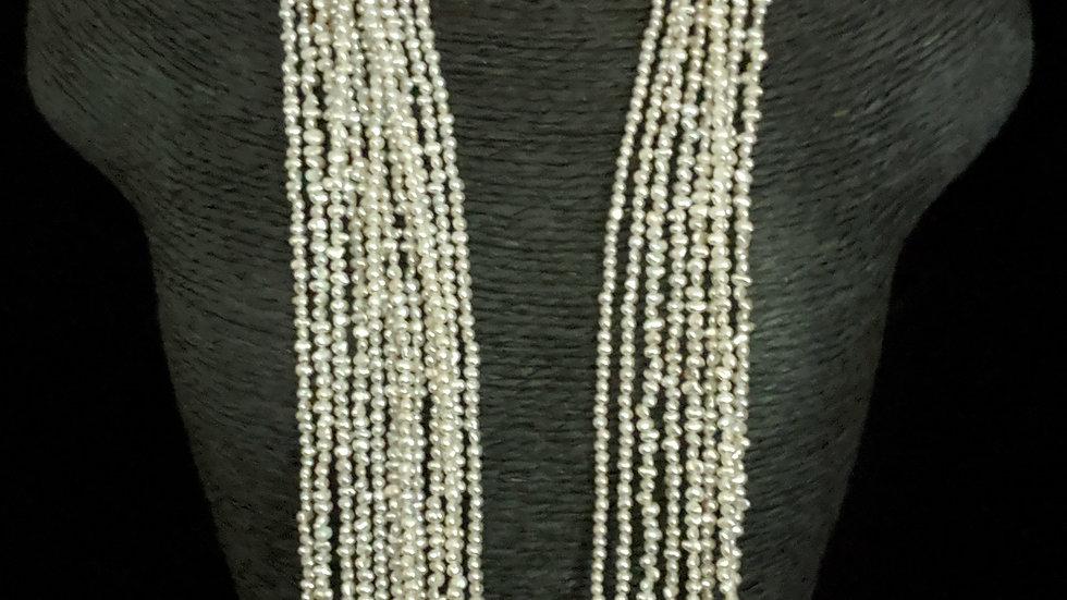 Japanese Akoya Saltwater Keshi Pearls Item N-823-20NE