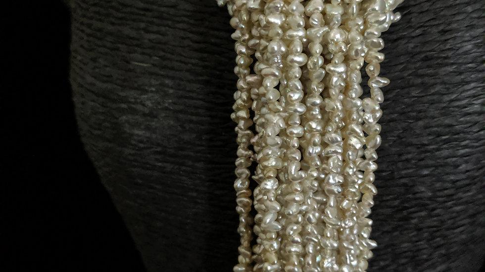 Japanese Akoya Saltwater Keshi Pearls Item N-870-24OE