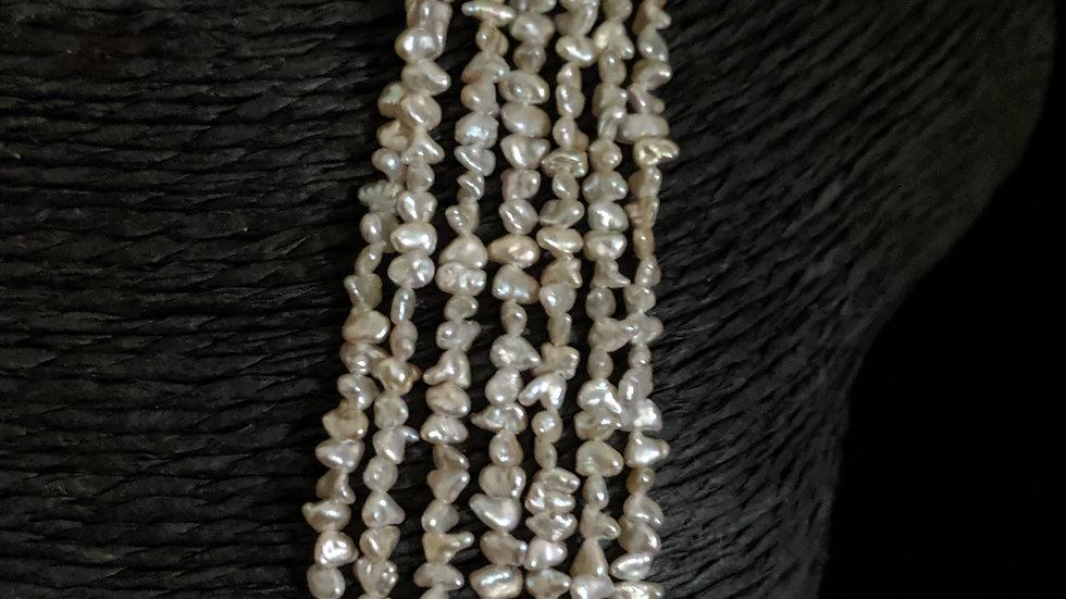 Japanese Akoya Saltwater Keshi Pearls Item 1476-13E