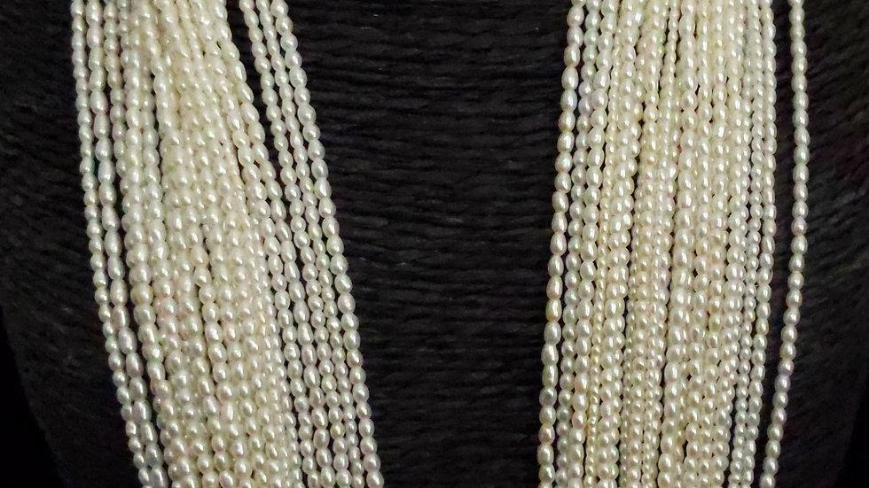 Japanese Akoya Saltwater Keshi Pearls Top Quality Item R-92-AE48