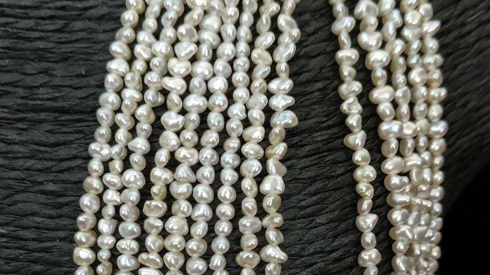 Japanese Akoya Saltwater Keshi Pearls Item N-839-27UE
