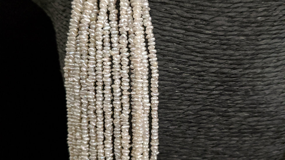 Japanese Akoya Saltwater Keshi Pearls Item P-002-24E