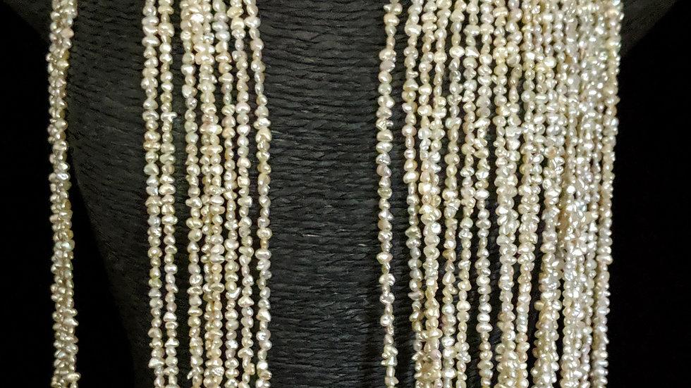 Japanese Akoya Saltwater Keshi Pearls Item N-882-32N