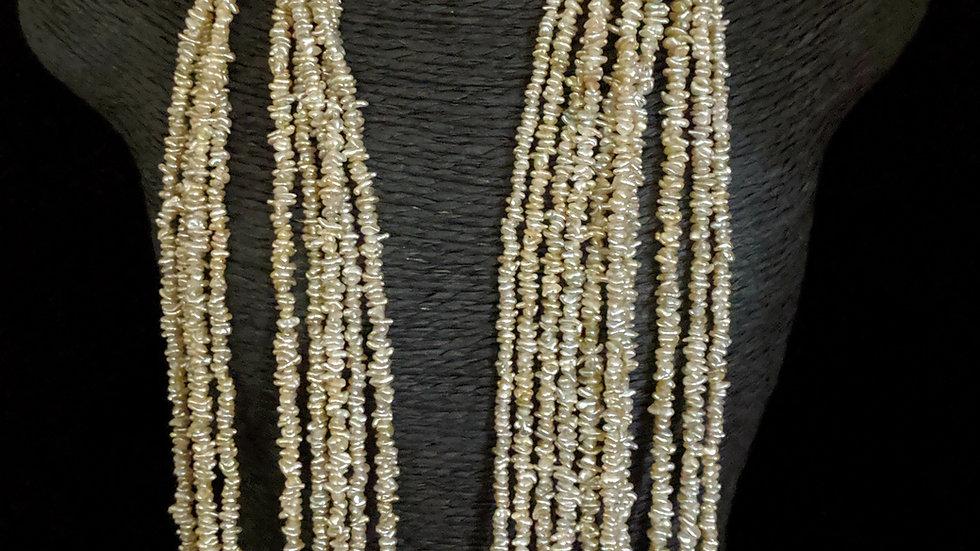 Japanese Akoya Saltwater Keshi Pearls Item 1469-19K