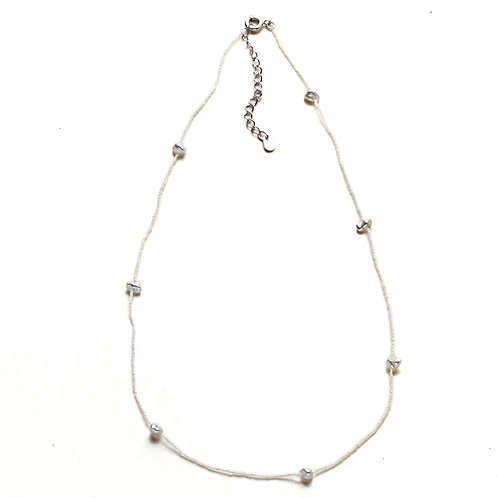 Smallest Pearls in the World Japanese Keshi Necklace