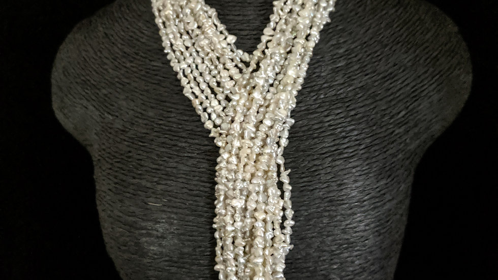 Japanese Akoya Saltwater Keshi Pearls Item E32-20E