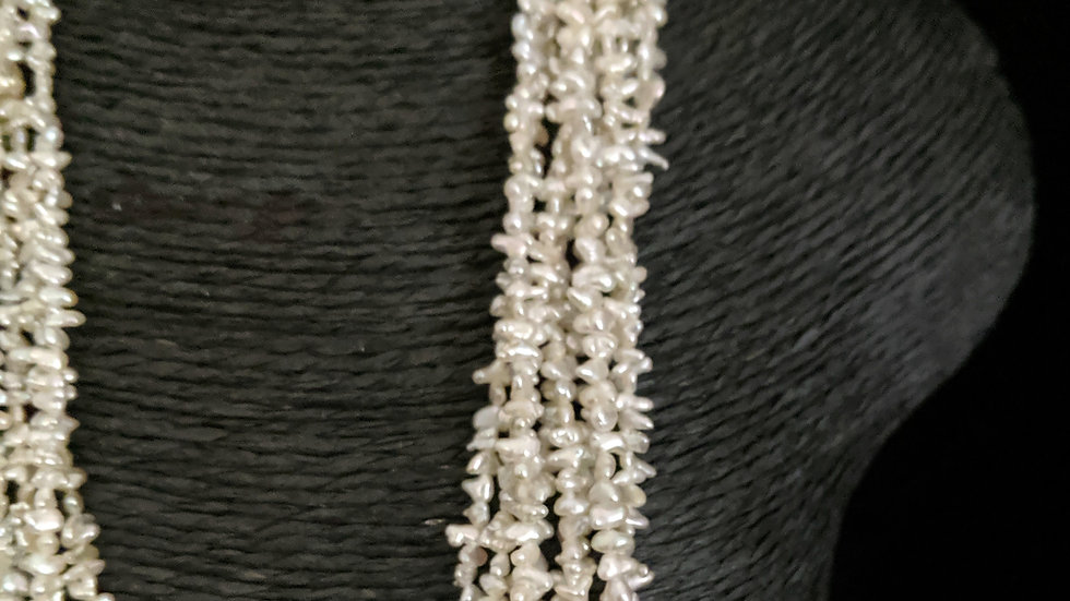 Japanese Akoya Saltwater Keshi Pearls Item P121-29O