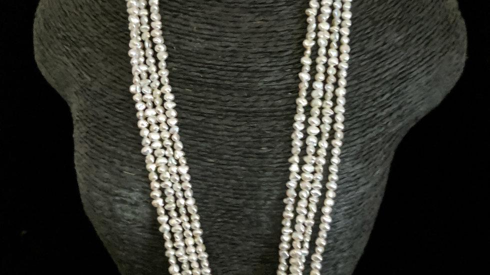 Japanese Akoya Saltwater Keshi Pearls Item N-50-MMM