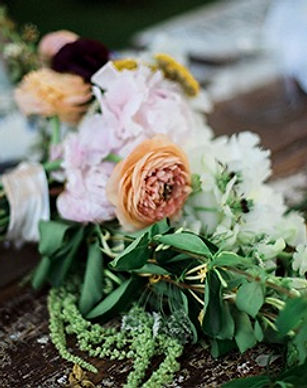 rustic wedding floral