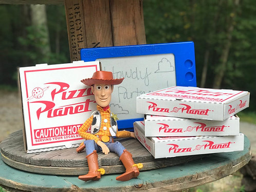 Toy Story Pizza Planet Boxes