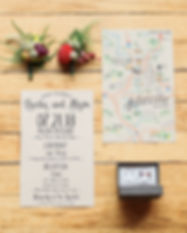 custo weddig floral invitations bohemian