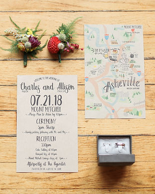 custo weddig floral invitations bohemian