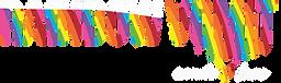 Rainbow Vomit exude love logo WIDE.png