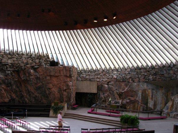 Helsinki Temppeliaukio Church
