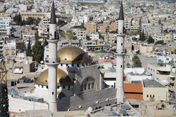 View of the top of Madaba