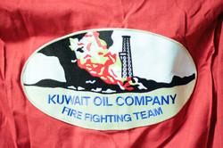 Fire fighting during the Irak war