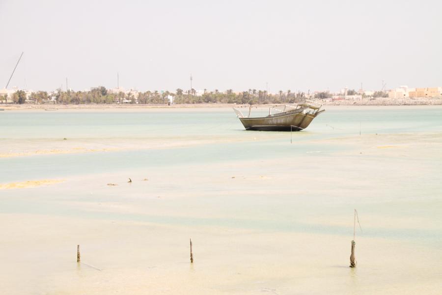 Dry sea