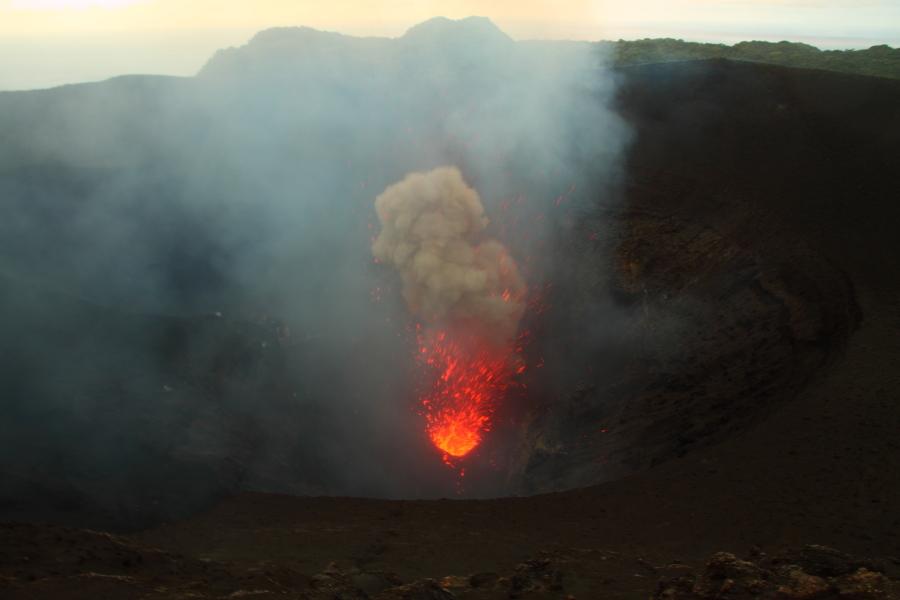 Tana volcano