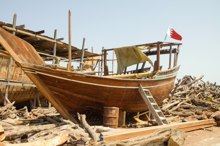 Old school boat