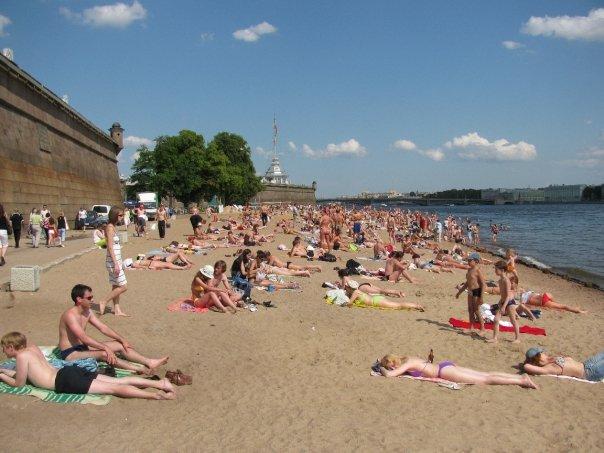 Russian beach