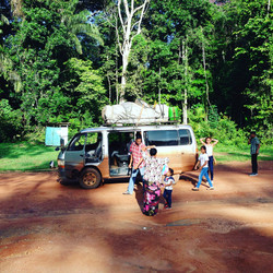 On the road to Lethem